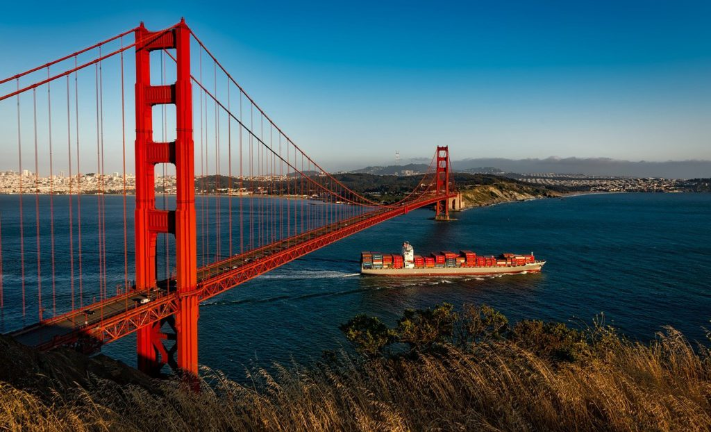 golden gate bridge, suspension, san francisco